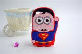 Caixa do silicone do superman do protetor do homem S do ferro dos círculos para LG K10 K420n J510 J5 J7