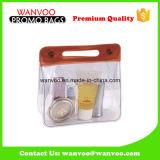 Freier Belüftung-Arbeitsweg-kosmetischer Beutel mit Reißverschluss und Taste