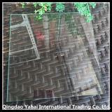 verre de flotteur clair carré de 4mm avec le bord Polished