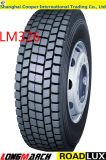 Laufwerk-Förderwagen-Gummireifen China-Radial-TBR langer März (LM326)