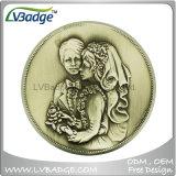 Kundenspezifische 3D Goldmünze für Sovenir Geschenk