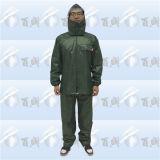Haltbares Polyester Coating Rainsuit u. Rain Suit mit Hood