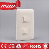 Placa de interruptor elétrica