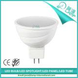 Nuevo proyector blanco del shell 6.5W GU10 LED de la casa de la onda