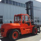Preiswerter Gabelstapler 12 Tonnen-Dieselgabelstapler mit Fahrerhaus