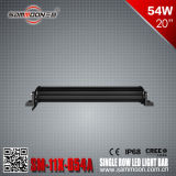 20 인치 54W (18PCS*3W) Pencil 또는 Flood Beam Single Row 크리 말 LED Light Bar (SM-11X-054A)