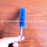 Cepillo de acero inoxidable del tubo de la manija del alambre de acero (YY-195)