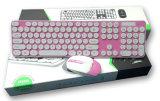 2.4G om de Draadloze Koreaanse Laptop Keycap Muis en het Toetsenbord van de Computer