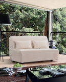 Отдых Folded Fabric Sofa Bed с Cover