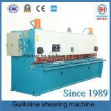 油圧ギロチンせん断機械QC11y/K 10/3200/Sheet金属および版CNCの油圧ギロチンのせん断