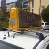 Signo de 5 mm de taxi superior del techo / LED superior del taxi Screen Display