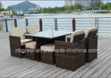 Sale caldo Square Table Dining Set per Outdoor