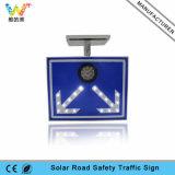 Panneau de signe de l'énergie solaire DEL de flèche instantané de lumière blanche