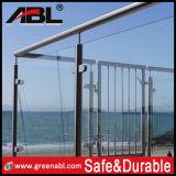 Trilhos de vidro 6 do balcão do aço inoxidável