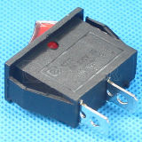 Красное Button 16A Rocker Switch 250V T125