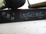Karaoke sem fio Handheld Mic do sistema do microfone da freqüência ultraelevada C.C.-Dois