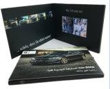 7inch A5の最も新しい招待のビデオパンフレットのカードLCDのビデオ挨拶状OEMの昇進のデジタルLCDビデオ名刺