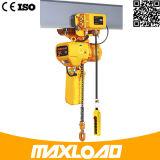 Qualität 0.5-5 Tonnen-Aufbau-Höhenruder-elektrische Kettenhebevorrichtung/Luft-Hebevorrichtung