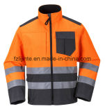 2016 Reflective Vestuário Jacket de segurança de alta visibilidade