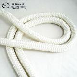 白いポリエステルアンカーラインロープ