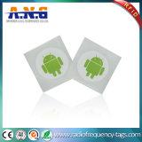 13.56MHz Aufkleber-Kennsatz-Marke HF-NFC Ntag215 RFID für E-Zahlung