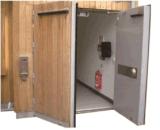 BS476 Standard Certified를 가진 나무로 되는 Fire Door