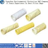 Sachet filtre non-tissé de collecteur de poussière de FMS pour l'usine d'énergie hydroélectrique