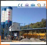 Precio de procesamiento por lotes por lotes concreto seco inmóvil simple de la planta/mezclador de cemento