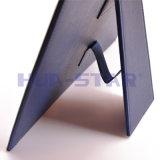 선전용 선물 (HS-T503)로 주문을 받아서 만들어진 로고 가죽 사진 프레임