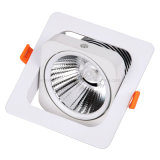 Da HOME clara do projector 90lm/W do diodo emissor de luz do teto de RoHS AC85-265V do Ce da alta qualidade do fabricante lâmpada interna Recessed 10W quadrada nova da ESPIGA da iluminação