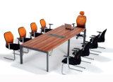 Großverkauf-Büro-Trainings-Schreibtisch-Melamin-rechteckiger Konferenztisch (SZ-MTT092)