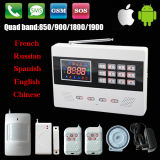 LED Wireless GSM Alarm System con il APP Operation Function