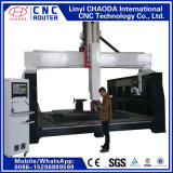 Router do CNC de 6 linhas centrais para grandes esculturas de mármore, estátuas, colunas