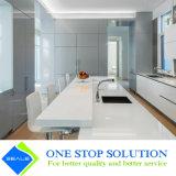Popolare nessuna alta mobilia degli armadi da cucina di rivestimento della lacca di lucentezza della maniglia (ZY 1060)