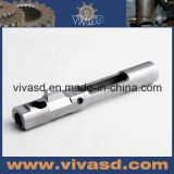 Снабжение жилищем проблескового света CNC подвергая механической обработке алюминиевое