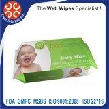 Wipe bagnato di Unscented di struttura morbida del Wipe del bambino
