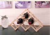 Vente en gros se pliante du bois de crémaillère de vin de meubles chauds de la vente 2016