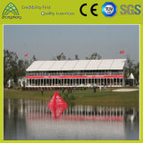 Tienda al aire libre del PVC de la dimensión de una variable del melocotón de la aleación de aluminio