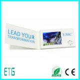 """2.4 """" по-разному тип, A5 размер, размер названной карточки, имеет поздравительную открытку LCD Port крышки USB"""