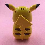 Côté mignon portatif de pouvoir de Picacho de dessin animé rechargeable estampé par coutume d'usine mini
