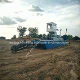 浚渫船の市場の砂のカッターの吸引浚渫機械