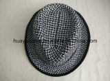 Sombreros pausados del sombrero de ala del estilo del papel Twisted del 100%