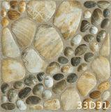 Mattonelle di pavimento di ceramica di pietra Cobbled rustiche antiche (300X300mm)