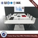현대 큰 크기 호두 멜라민 장방형 사무실 회의 회의장 (HX-5N151)