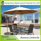 type excentré s'arrêtant extérieur de luxe parapluie de banane de 3m de patio