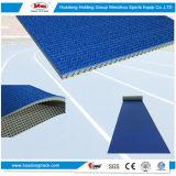 Pavimentazione atletica della pista della superficie di gomma dell'atletica leggera