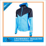 Lightweight Running Jackets der Frauen mit Waterproof Membrane Fabric
