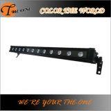 Luz ao ar livre da barra da arruela da parede do diodo emissor de luz da alta qualidade
