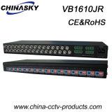 aktiver CCTV16ch videobalun-Empfänger mit Klemmenleiste (VB1610JR)