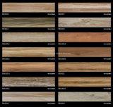 azulejo de suelo de madera del grano de la inyección de tinta 3D 150*820 Rd18025